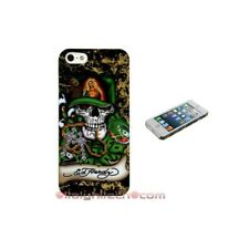 BUMPER CUSTODIA COVER X IPHONE 5 5S TATTOO ED HARDY teschio madonna Crystal case