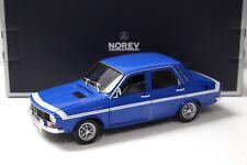 1:18 Norev Renault 12 GORDINI 1971 blue NEW bei PREMIUM-MODELCARS