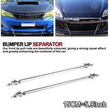 Adjustable Front Bumper Lip Splitter Strut Rod Tie Support Bar For Dodge Charger