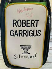 Callaway Epic Flash Staff Pga Tour Golf Bag Signed Robert Garrigus Silverleaf