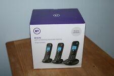 BT 3570 Triple Cordless Telephone with Answer Machine - Black