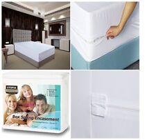 KIng Size Bed Mug Mattress Cover Protector Mites Cal Box Spring Encasement NEW