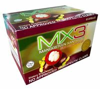 60 Capsules MX3 Mangosteen Xanthone Body Boost Energy Enhancer w/ FREE MX3Coffee