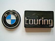 Set Original BMW Systemkoffer Emblem 41mm + Touring R850RT R1100RT R1150RT badge