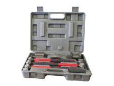 Coffret kit carrossier marteaux tas 7 pieces pour debosselage carrosserie