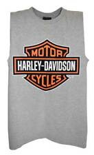 Harley-Davidson Mens Bar & Shield Tank Top Muscle Gray T-Shirt 30296626