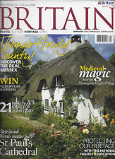 Britain magazine Thomas Hardy country Medieval magic knights St. Pauls Cathedral