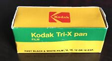 VINTAGE KODAK -TRI-X PAN FILM  TX 120. Exp 1986