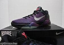 Nike Zoom Kobe VII 7 Sz 13 - Black Purple Blue - Invisibility Cloak - 488371 005