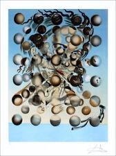 """DALI Salvador (D'aprés) - Lithographie """"Galatée aux sphères"""" 76x56cm"""
