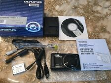 Olympus VR-310 Black 14MP Digital Camera With 10x Optical Zoom Super Wide