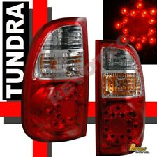 Red LED Tail Lights Lamps 1 Pair For 05 06 Toyota Tundra ACCESS Cab SR5