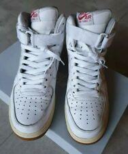 CI0065 100 Nike Air Force 1 07 Premium WhiteMetallic