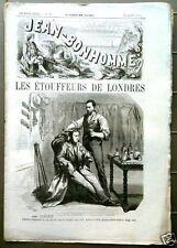 JEAN-BONHOMME 1863 n°10     Les Rats du Figaro