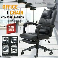 More details for ergonomic racing gaming chairs swivel office executive recliner computer chair
