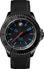 Ice-Watch BMW Motorsport Black Dial Black Leather Mens 43 mm Watch BM.KLB.U.L.14