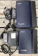 Panasonic KX-TDA50 Hybrid IP-PBX Phone + KX-TVA50 Voicemail System