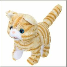 Scottish Baby Kitten Soft Plush Cute Moving Electronic Automated Pet Cat Toy