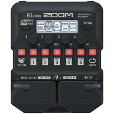 Zoom G1 FOUR Guitar Multi Effects Pedal w/ 70 Effects and Amp Models