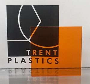 Tinted Colour Perspex Acrylic Plastic Sheet Cut to Size Window Transparent Glass