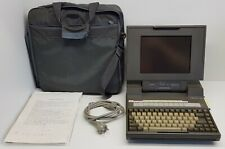 Toshiba T3100/20 Vintage Laptop. Plasma screen, modem. with original Bag. Rare !
