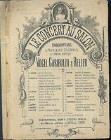 Beethoven, ANDANTINO - SCHERZANDO Op. 18 No. 4 ~  übergroße, alte Noten