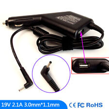 Laptop DC Adapter Car Charger USB Power for Samsung Series 5 540U3C NP532U3C