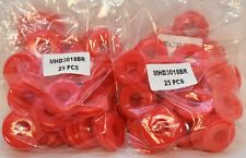 Commercial Truck & Trailer Red Poly Gladhand Seals (50 Pcs) - Mhd3018Br