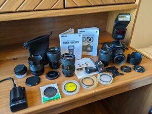 Nikon D50 Camera and SB-600 Speedlight Kit