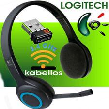 Logitech h600 Cordless auriculares-auriculares USB Nano-receptor-inalámbrica de 2,4 GHz