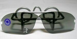 New Original Oakley Flak Draft Black Poly Sunglass Replacement Lens 67-6mm ok38