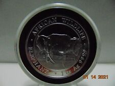 BRAND NEW 2020 SOMALI AFRICAN WILDLIFE ELEPHANT SILVER COIN