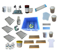 TECHTONGDA T-Shirt Screen Printing Materials Kit Special Materials&Equipment US