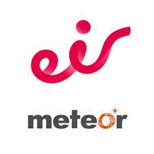 Eir Meteor Ireland Sim Card Sim 4G