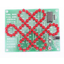 DIY Kit Red Chinese Knot Analog Electronic Circuit Suite Creative Practice DIY