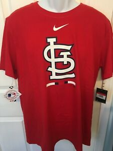 St. Louis Cardinals Mens Nike MLB Legacy Short Sleeve T-Shirt - XL & Large - NWT