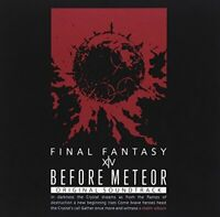Before Meteor: FINAL FANTASY XIV Original Soundtrack