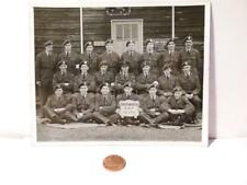 Real Photograph 37 FLT BRIDGNORTH RAF Hut 316 NATIONAL SERVICE ??
