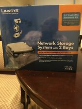 Brand New Cisco-Linksys Network Storage System with 2 Bays