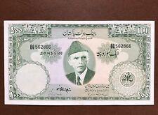 $1 World Banknotes (150) Pakistan P-18, 100 Rupees, NOT UNC, Shojaat Ali Sign
