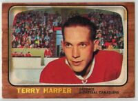 1966-67 Topps Hockey #68 Terry Harper VG+ Condition (2020-03)