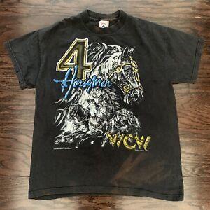 Vintage 4 Horseman Flair Chris Benoit Dean Melanko McMichaels 1996 WCW XL Tshirt