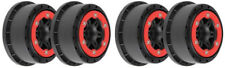 "4 Pro-Line Split Six 2.2""/3.0"" Bead-Loc Wheels for Traxxas Slash 2WD 4WD 2715-04"