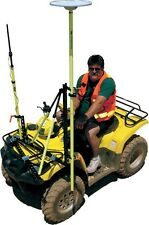Seco Surveying GPS ATV Pole Bracket System, RTK, Topcon, Leica, Sokkia, Trimble