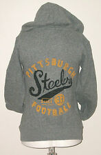 JUNK FOOD PITTSBURGH STEELERS HOODED SWEATSHIRT SIZE XS NEW WITHOUT TAGS