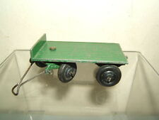 VINTAGE DINKY TOYS MODEL No.25g TRAILER       ( GREEN VERSION  )