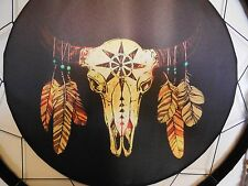 """DREAM CATCHER SKULL 24"""" FEATHERS WALL WESTERN HOME DECOR BRAND NEW LARGE"""