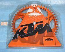 couronne alu orange 50 dents KTM 125 200 250 300 400 450 530 EXC EXC-F SX-F SX