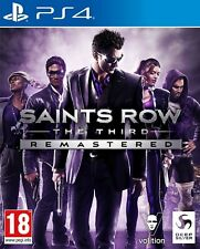 Saints Row The Third: Remastered (PS4)IN STOCK Brand New & Sealed