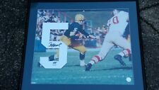 PAUL HORNUNG SIGNED PACKERS UDA UNIFORM #5 FRAMED 24x28 PHOTO LIMITED 10/25